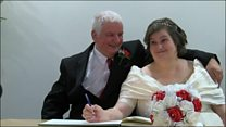 Marriage for couple united by disability