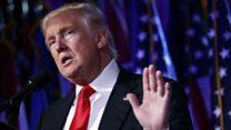 An zabi Donald Trump a matsayin sabon shugaban Amurka
