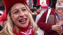 كرنفال مدينة كولونيا الألمانيا من أكبر مهرجانات أوروبا