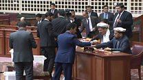 استیضاح سه وزیر کابینه دولت وحدت ملی افغانستان