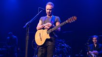 Bataclan reopens with Sting concert