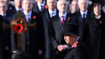 The Queen leads Cenotaph commemorations