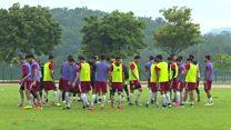 ایران و سوریه برای مسابقه فوتبال در مالزی آماده می شوند