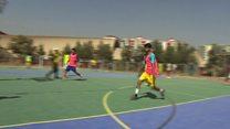 د افغان اولمپيک پر مشرتابه لانجه