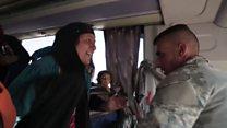 Трогательная встреча солдата из Мосула с мамой