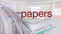 Christopher Hope and Miranda Green review Tuesday's papers