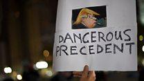 ABD'de Trump karşıtı proestolar