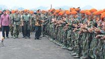 Presiden Jokowi lakukan 'konsolidasi politik' dengan militer