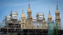 Exclusive insight into urgent Houses of Parliament repairs