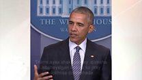 Daawo: Obama oo ku jira safarkiisii ugu dambeeyay