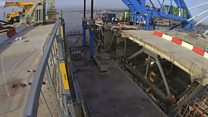 Decks lifted on Queensferry Crossing