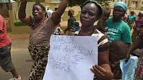 Lagos protesters demand new homes