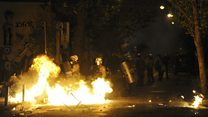 Obama'ya Yunanistan'da protesto