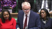 Corbyn: No Brexit plan due to cabinet 'divisions'