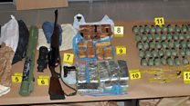 Serbia arrests in arms-smuggling raid