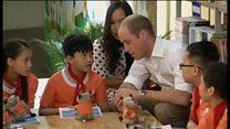 Hoàng tử William thăm phố Lãn Ông, Hà Nội