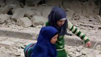 Fear in Aleppo as air strikes resume