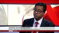 Chagos Islanders not allowed home