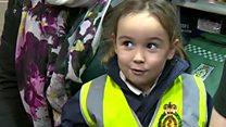 'I called 999' - meet girl who saved her mum