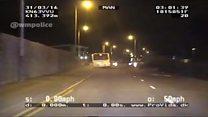 Footage released of three men stealing bus