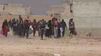شهر على انطلاق معركة استعاد الموصل والتقدم لايزال يسير ببطء
