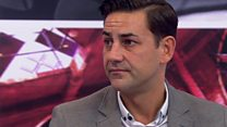 Ex-footballer on being sexually abused by coach
