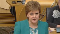 Sturgeon: 'I am sorry for the disruption'