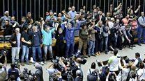Brezilya'da askeri darbe yanlıları meclisi bastı