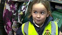 La niña de 4 años que salvó la vida a su madre