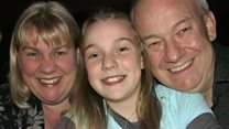 Girl, 16, on losing parents to cancer