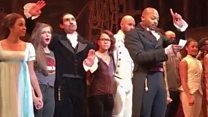 Hamilton cast's message to Mike Pence