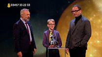 Schoolboy wins Sir Terry Wogan award