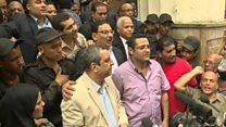 حكم  بحبس نقيب الصحفيين وعضوين في مجلس النقابة لعامين