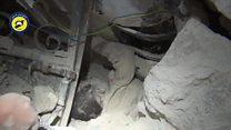 غیر نظامیان در کشاکش مرگ و زندگی زیر بمباران های حلب