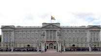 تعمیر کاخ باکینگهام در لندن