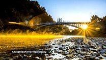 Around Scotland in time-lapse