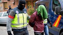 Terror arrests in Spain