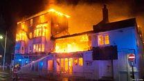 Firefighters tackle Bognor blaze