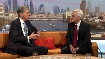Hammond and McDonnell talk Brexit