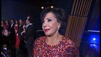 Dame Shirley Bassey enjoys emotional concert