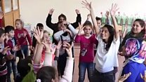 Dance therapy for child refugees