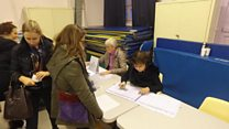High turnout in French presidential primary