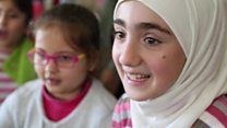 المعالجة عن طريق الرقص... وسيلة لمساعدة أطفال سوريا