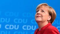 Merkel eyes up fourth term