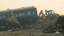 At least 120 dead in India train crash