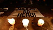 Prokontra pemakaman mantan presiden Marcos di TMP berlanjut