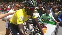 Valens Ndayisenga yegukanye Tour du Rwanda