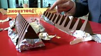 Swiss president has his say on Toblerone
