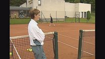 Andy Murray as 14-year-old future star
