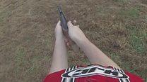 Cox suspect 'watched YouTube gun video'